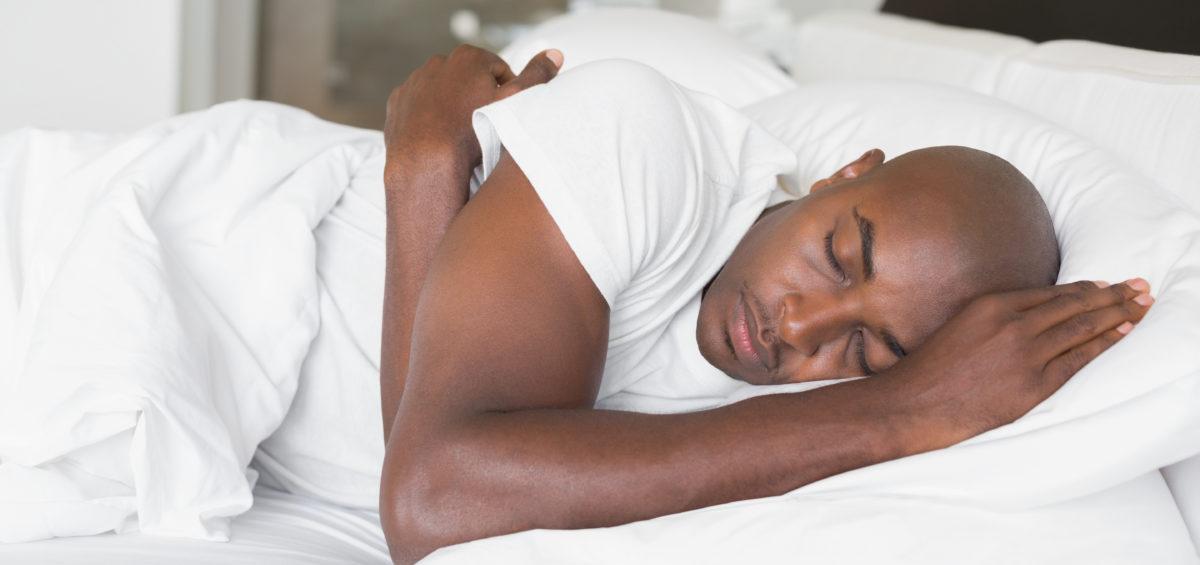 Male sleeping
